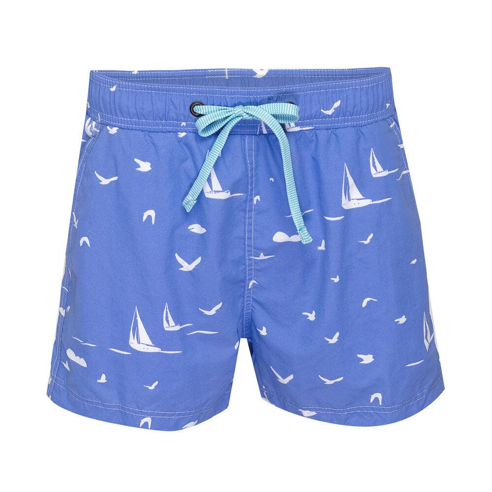 Balmoral Blue Yacht Mens Swim Shorts