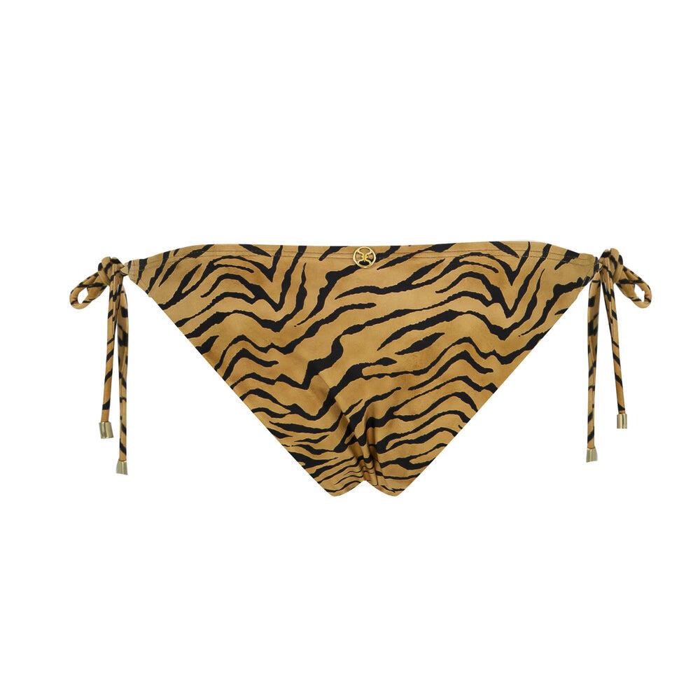 Tiger Long Tie Side BR Bottom Black
