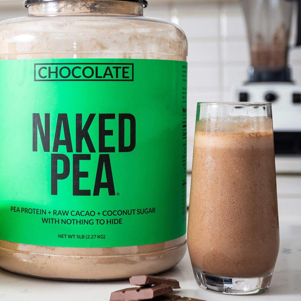 chocolate pea protein shakes
