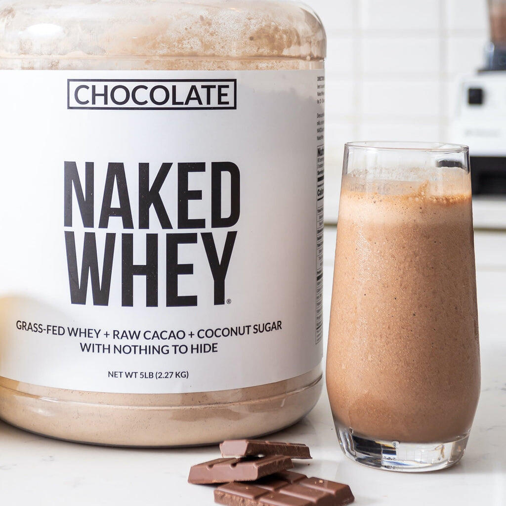 chocolate whey shake