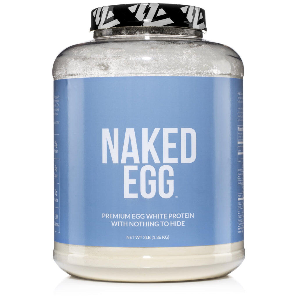 Egg White Protein Powder Label