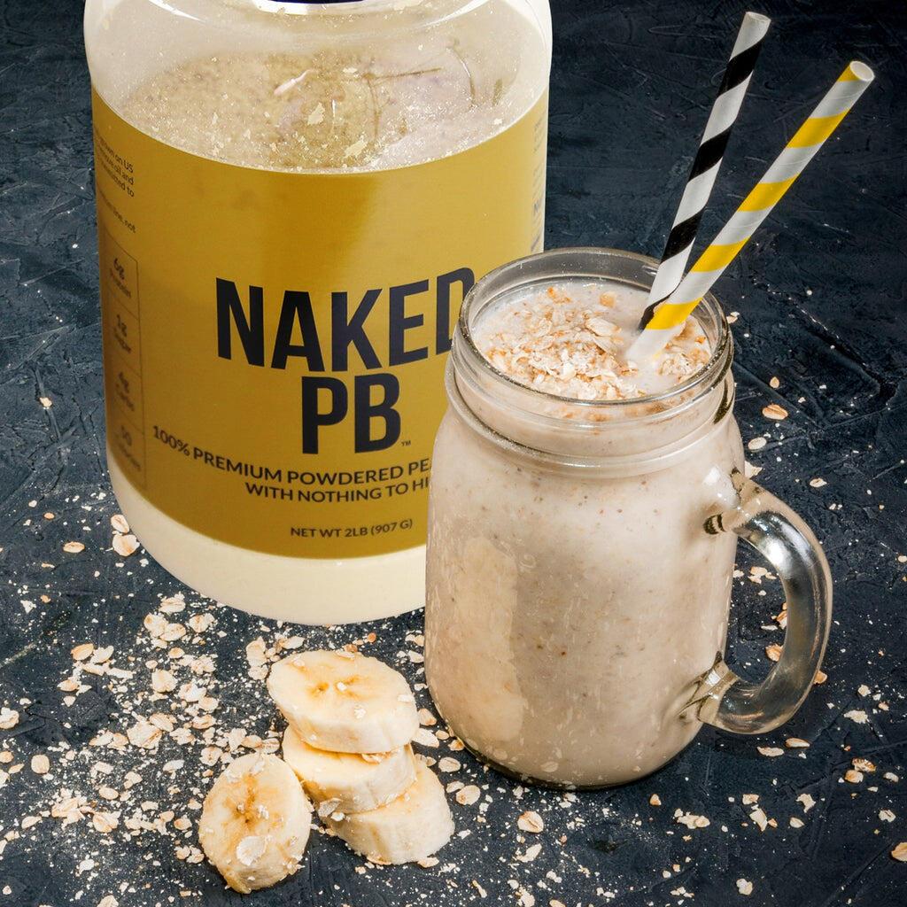 peanut butter powder shake
