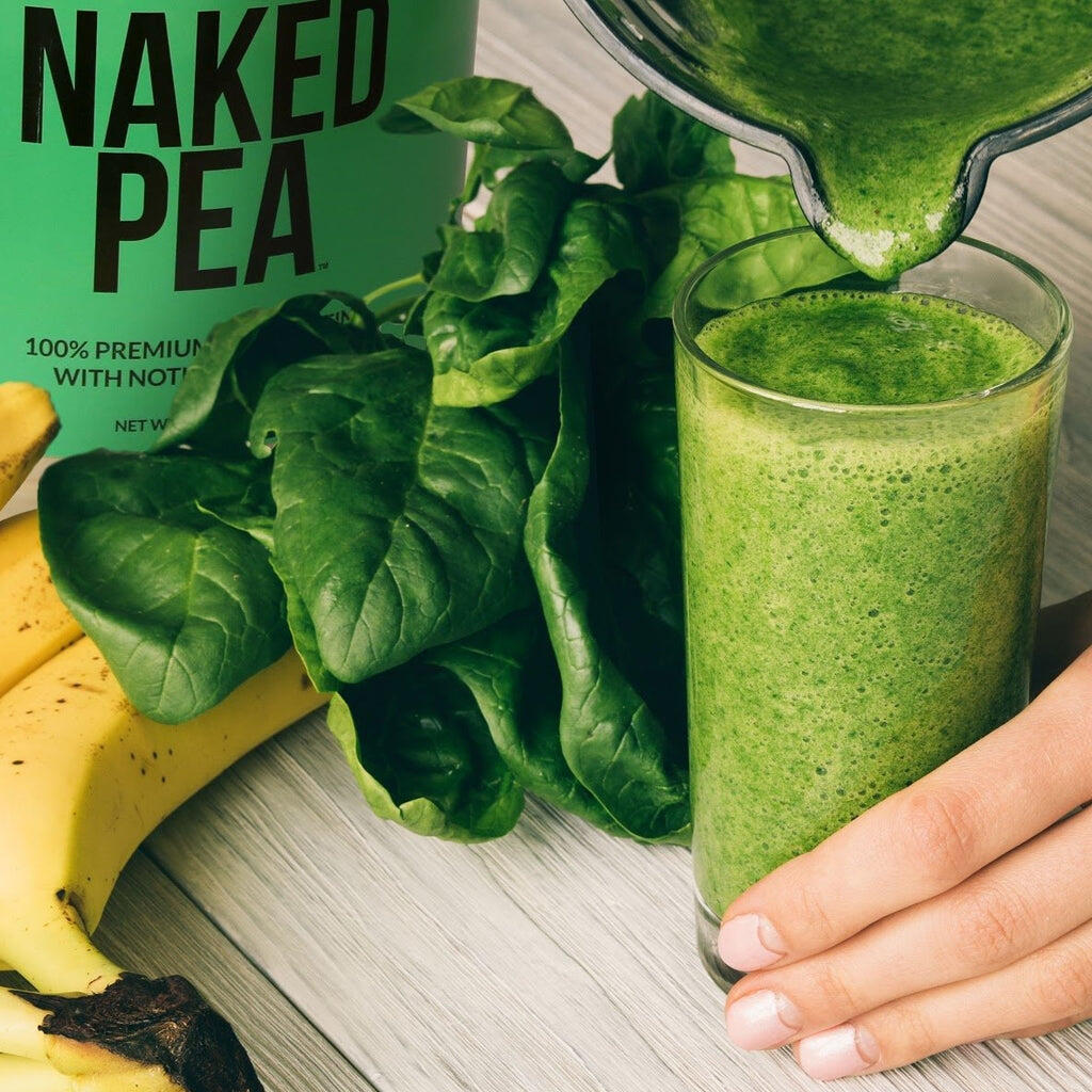 pea protein shake sample