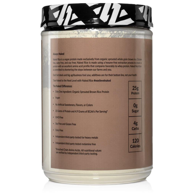 Organic Brown Rice Protein Powder 1lb | Naked Rice - 1lb