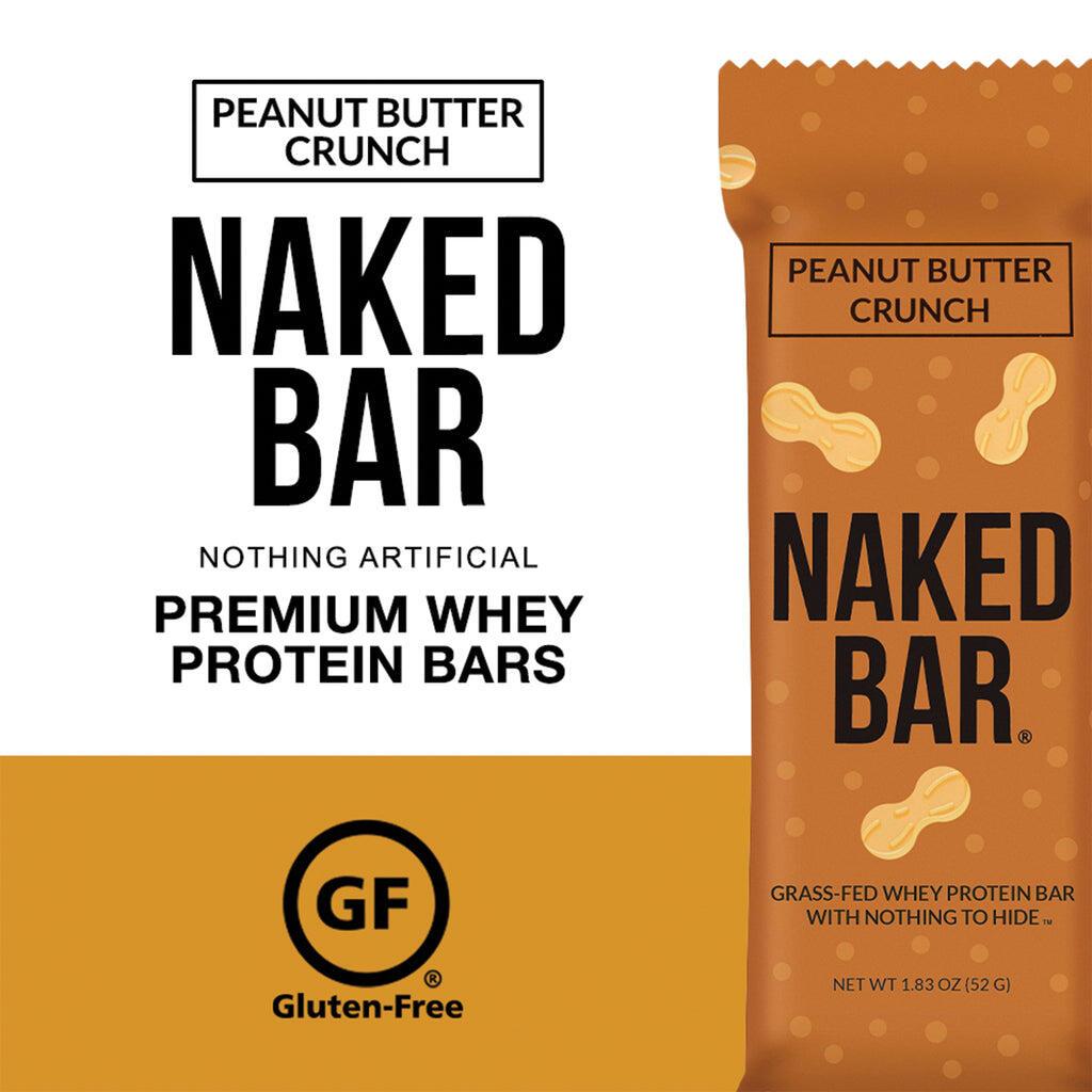 gluten free peanut butter protein bars