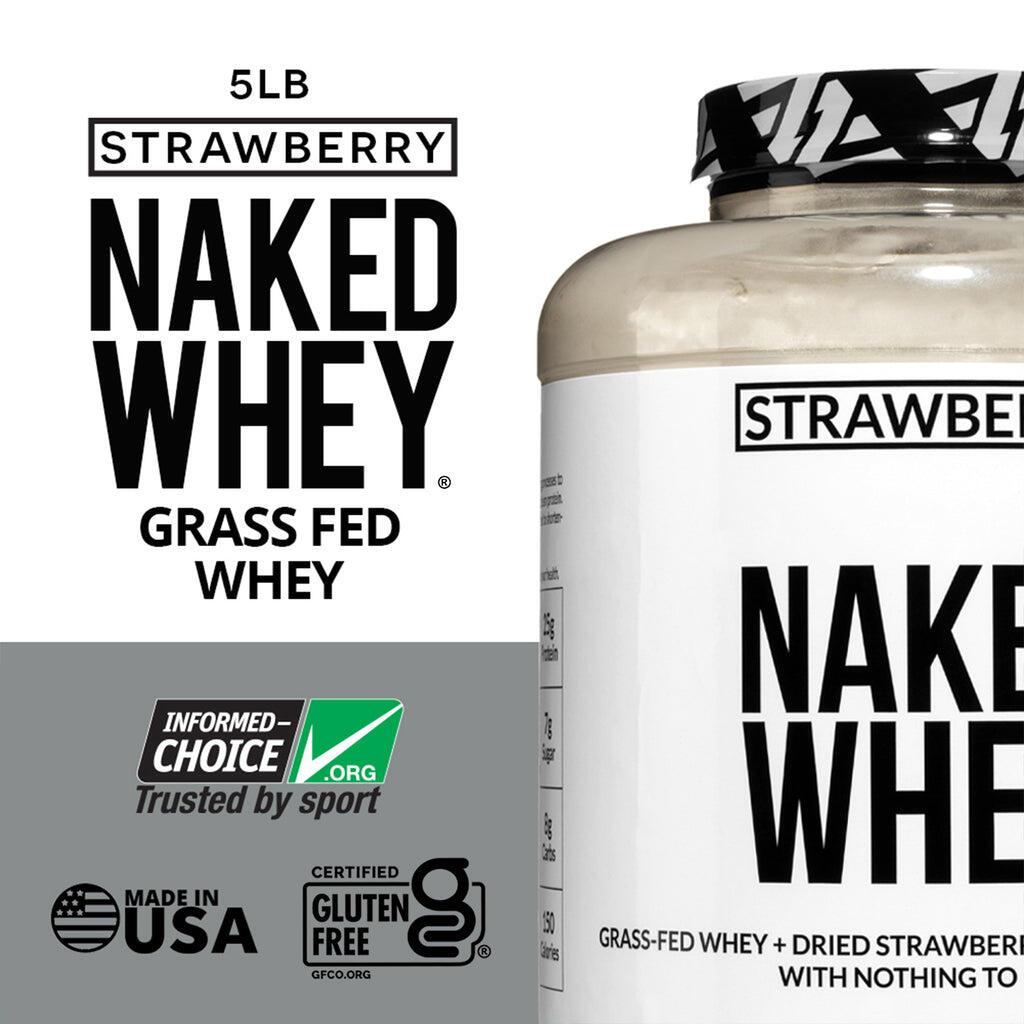 gluten free strawberry whey protein