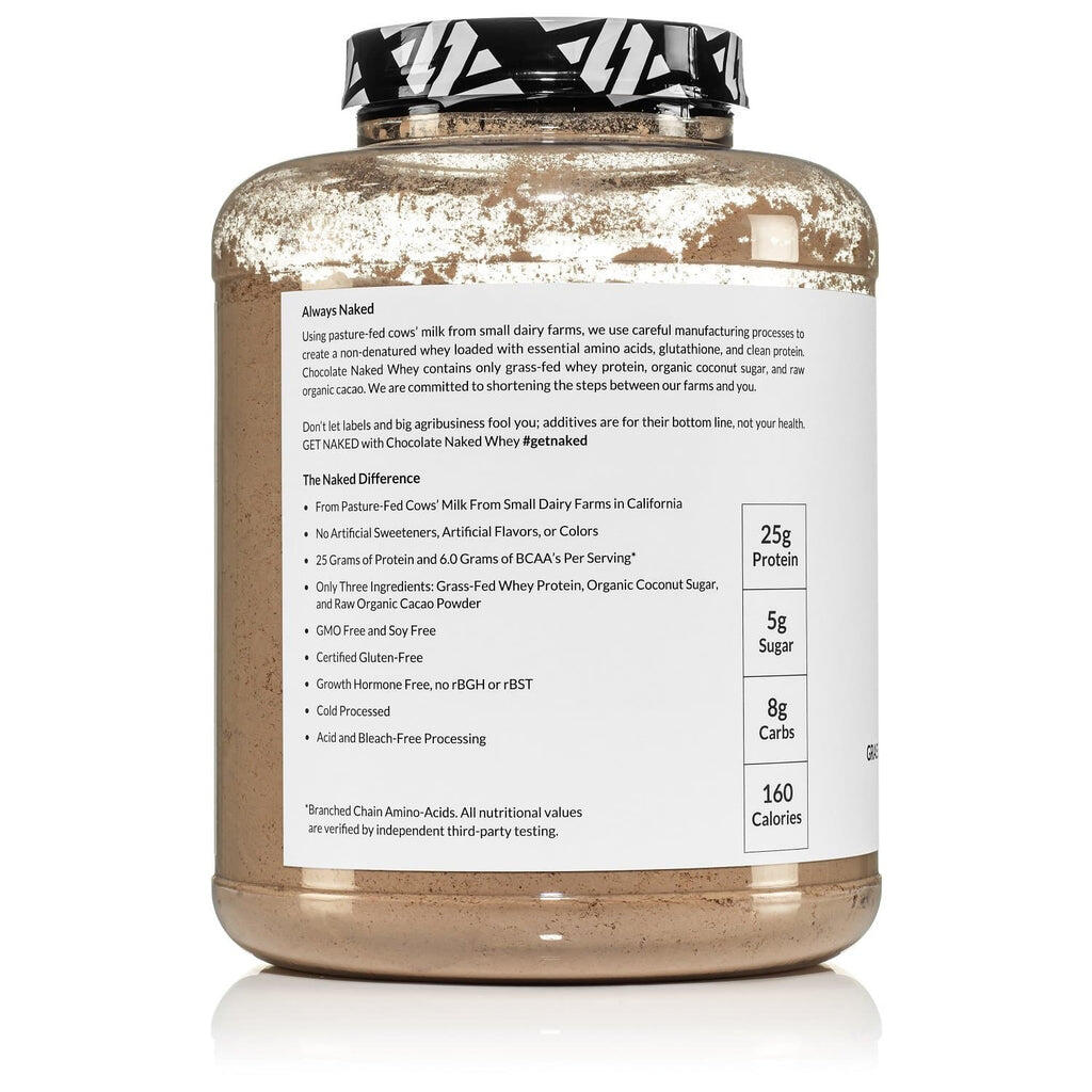 grass fed chocolate whey protein