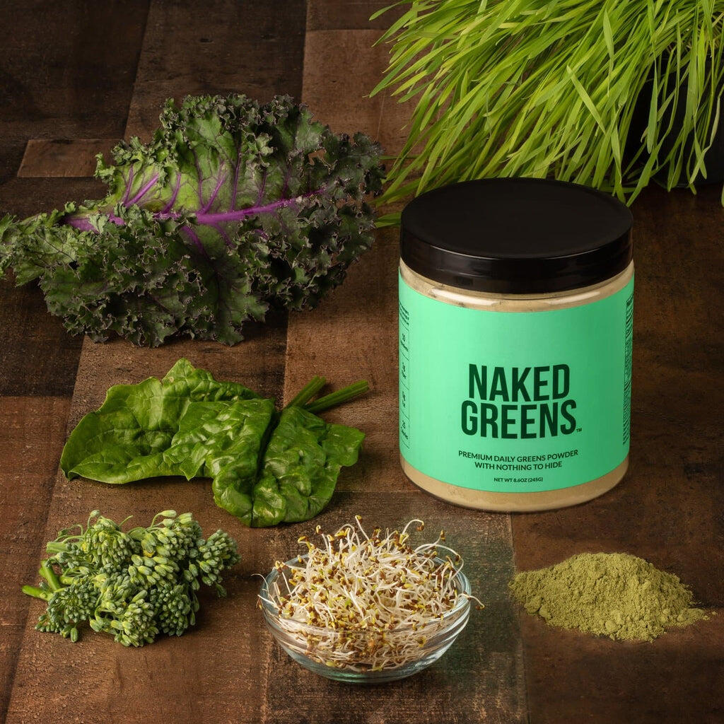 Naked Greens supplement ingredients