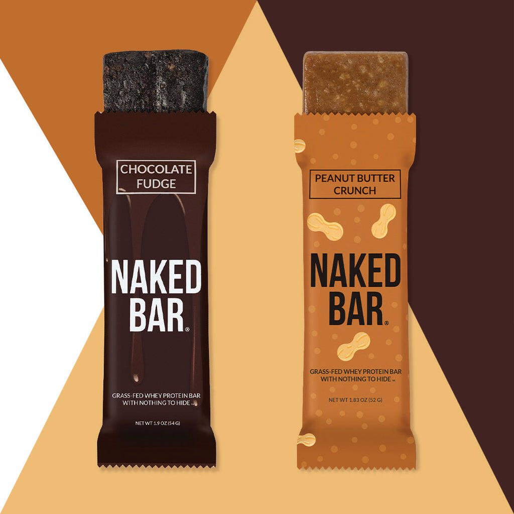 naked protein bar flavors