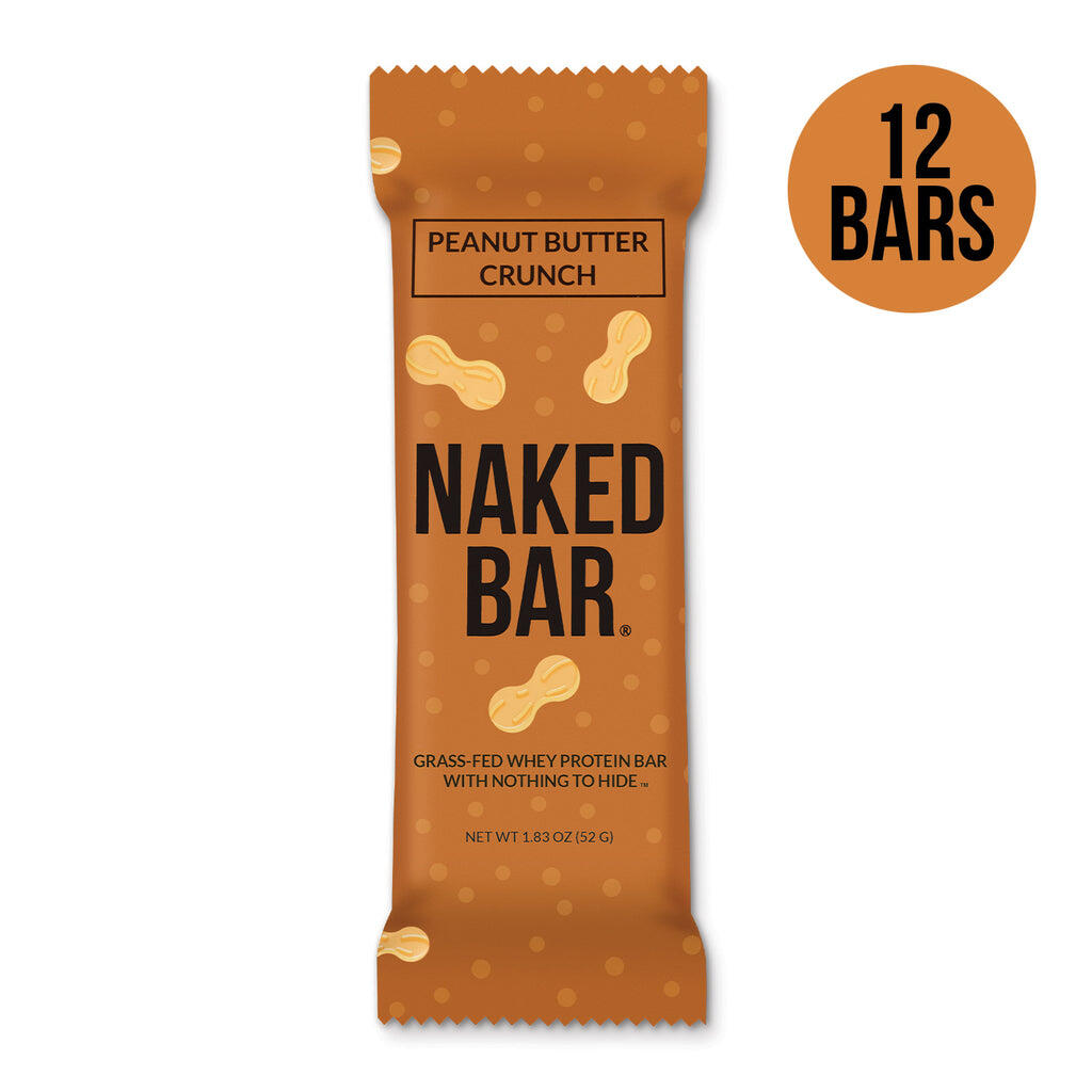 Peanut Butter Protein Bars   12 Naked PB Protein Bars