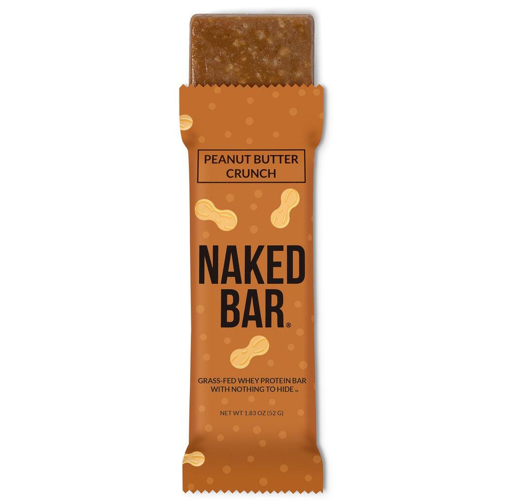peanut butter crunch protein bar