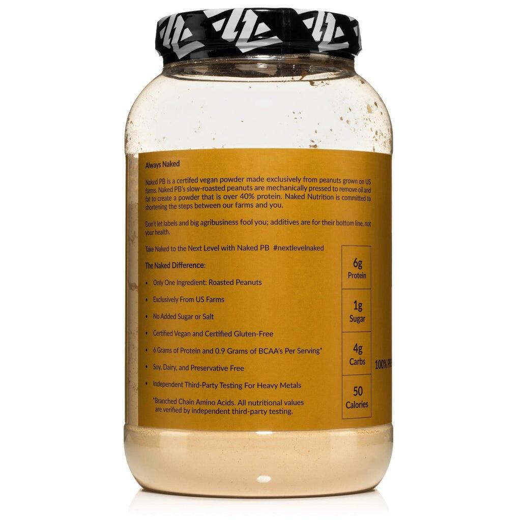 peanut powder nutrition