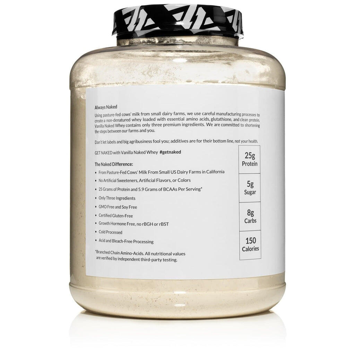 vanilla grass fed whey nutrition