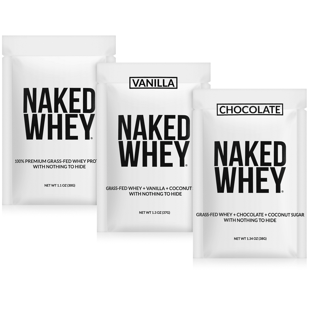 Grass Fed Whey Protein Powder Sample Pack