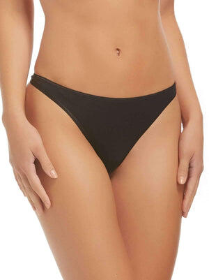 Felina So Smooth Thong 10-Pack color-black fawn