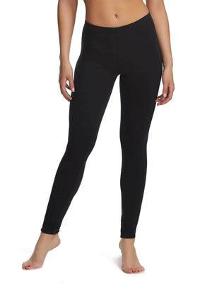 Felina Velvety Super Soft LightWeight Legging 4-Pack color-black