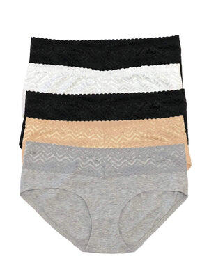 hipster panty pack color-basics combo