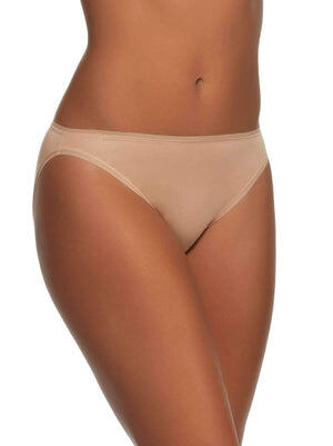 So Smooth Hi Cut Geo Lace Panty color-fawn