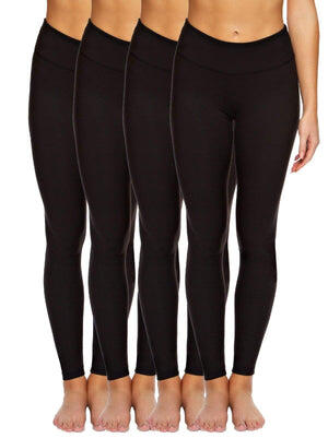 Sueded Athletic Legging 4-Pack