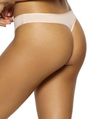 Felina Blissful Basic Thong color-sugar baby
