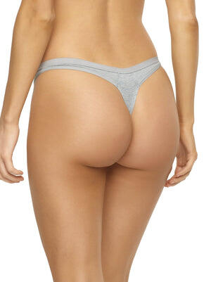 organic thong panty color-sky