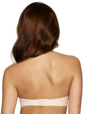 Felina Hint Of Skin Contour Strapless Bra back shot color-bare