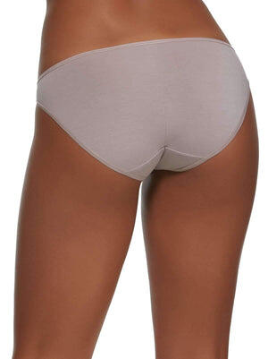 Felina Sublime Low Rise Bikini back shot color-gull grey