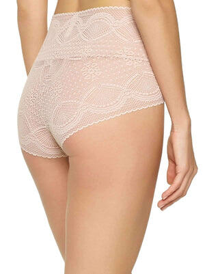 Felina Finesse Modern Mock-Wrap Brief color-warm neutral