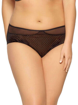 Paramour by Felina Dahlia High-Waist Brief color-black