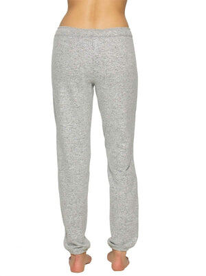 Felina Victoria Jogger Pant back shot color-heather gray