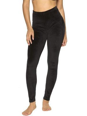 Felina Velour Leggings color-black