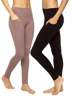 Athletic pocket legging color-black sparrow
