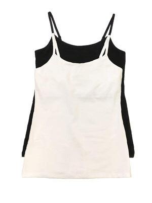 Maternity Camisole color-black white