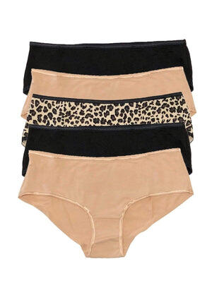 so smooth hipster 5 pack color-cheetahlicious