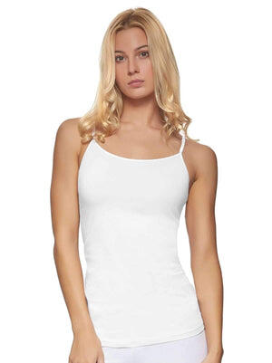 Felina Cotton Modal Camisole color-white